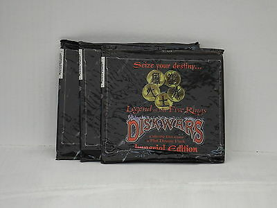 Legend of the Five Rings (L5R) Diskwars Imperial Edition Booster x3