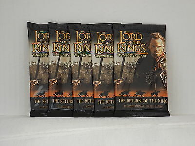 Lord of the Rings TCG The Return of the King  Booster x5  *New & Sealed*