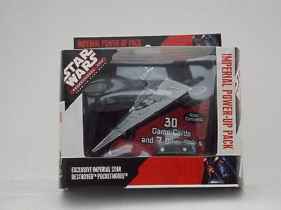 Star Wars Pocketmodel TCG Imperial Power Up Pack Star Destroyer  *New & Sealed*