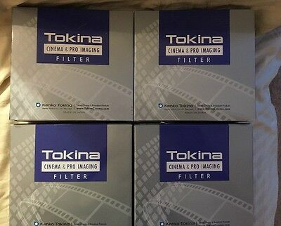 FOUR x Tokina 127mm PRO IRND Filters 0.3-0.6-0.9-1.2 NEW & SEALED incl pouch
