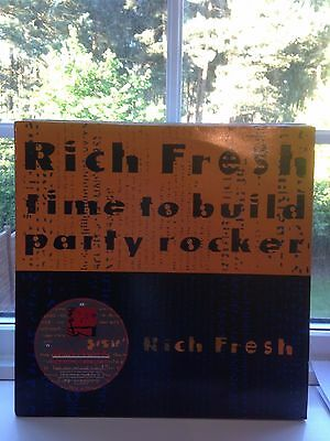 "Rich Fresh - Time To Build 12"" Vinyl ""rare"" Us  Oldschool Hip Hop Classic"