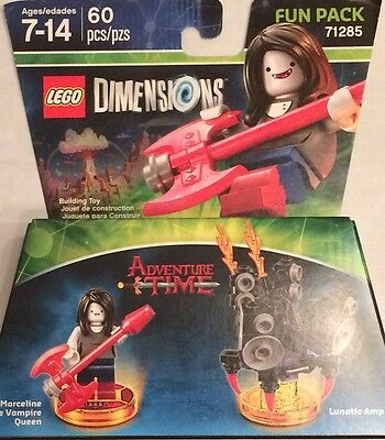 LEGO Dimensions Adventure Time Marceline the Vampire Queen Exclusive Fun Pack