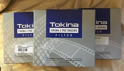 THREE Tokina 112mm PRO IRND Filters 0.3 ,0.6, 0.9  NEW and SEALED incl pouch