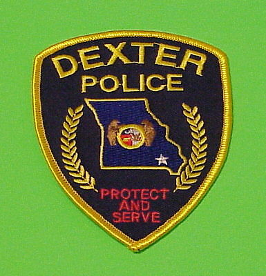 "Dexter  Missouri  Mo  "" Protect And Serve ""   Police Patch   Free Shipping!!!"