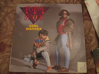 """FINESSE & SYNQUIS - SOUL SISTERS 12""""  CLASSIC CED GEE """"RARE"""" US hip hop"""