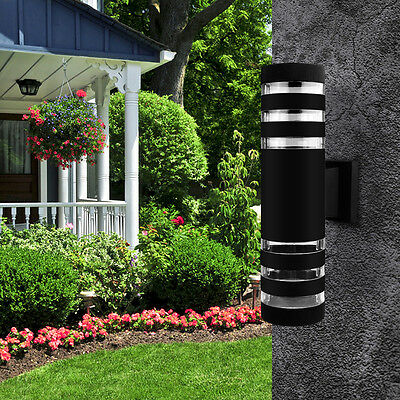 18W Modern Outdoor Exterior LED Up & Dowm Wall Light Lamp Fixture Sconce IP65