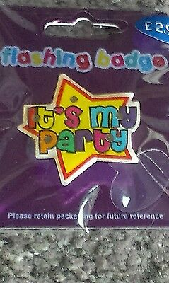 Its my party badge