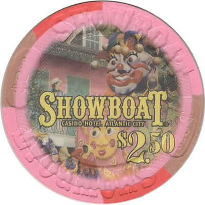 Showboat Casino - $2.50 Casino Chip