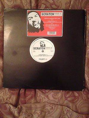 "Scratch - U Know The Rulez 12"" Vinyl The Roots ""rare"" Us Classic Hip Hop"