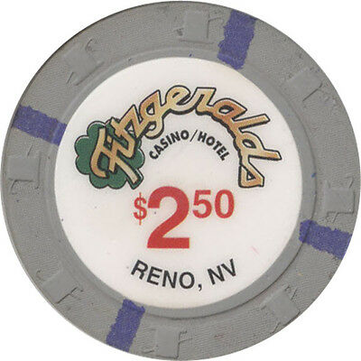 Fitzgeralds - Reno - $2.50 Casino Chip