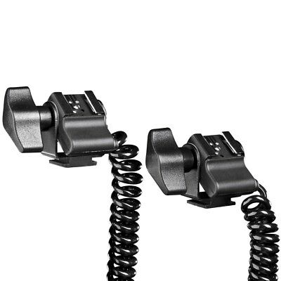 walimex Double Spiral Flash Cable / Flash Cord for Pentax Flash Light