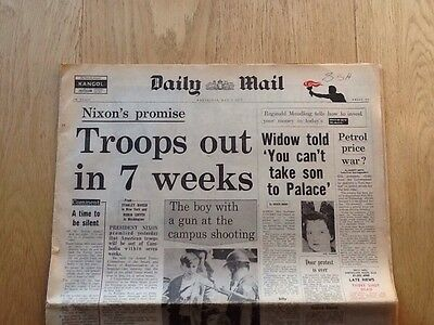 Vintage Daily Mail May 6th 1970
