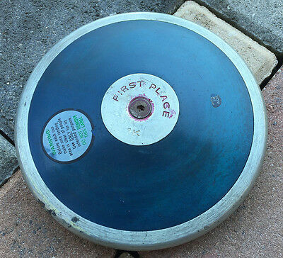 Vintage NELCO First Place 1K Track & Field Discus, 7 Inch Diameter