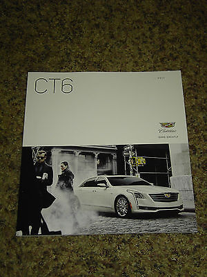 2017 Cadillac Ct6 Brochure Mint! 46 Pages