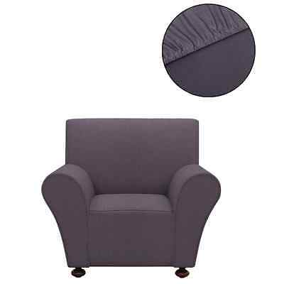 Sofahusse Jersey Sessel Sofa Bezug Universal Stretchhusse Polyester Anthrazit #S
