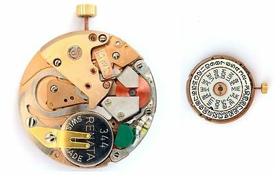 OMEGA 1130  original quartz watch movement  UNTESTED   (4423)
