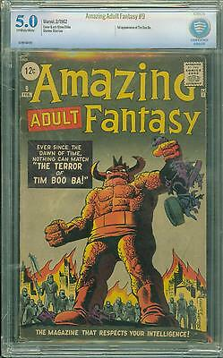 Amazing Fantasy #9 [1962] Certified[5.0] Classic Cover