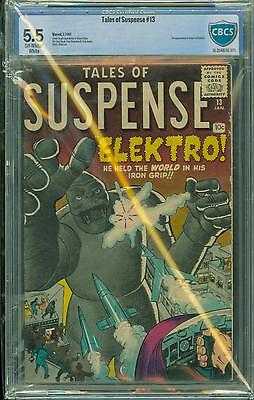 Tales Of Suspense #13 [1961] Certified[5.5] Classic Kirby/ditko