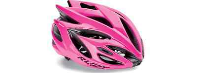 Casco da bici RUDY PROJECT Mod.RUSH Col.Pink Fluo/HELMET RUSH PINK FLUO SHINY