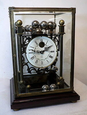 Wonderful Skeletonized Ferris Wheel Clock--Never Wind This Clock With A Key!!