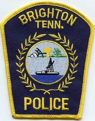 Brighton Tennessee Tn Police Patch