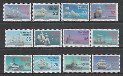 MARSHALL Is - 1993+  Ships - Part Set of 12, MNH - Various to $3. Cat £28+