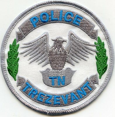 Trezevant Tennessee Tn Police Patch