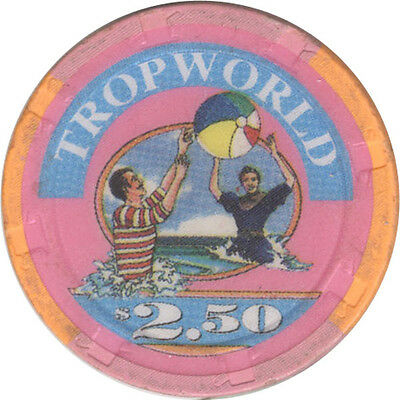 Tropwworld Casino - $2.50 Casino Chip