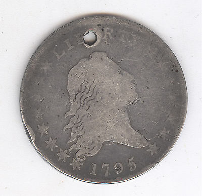 1795 Early Half Dollar with Flowing Hair + Nice Circ + No Reserve!