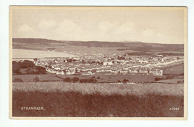 Stranraer General View Photo Taken 1938 Valentines A7063 Card Published 1946