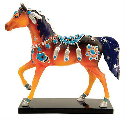Trail of Painted Ponies NATIVE JEWEL FIGURINE New in Box, Resin, LOW 1st Edition