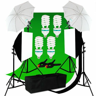 5'x10' Backdrop Light Video Photo Studio Photography Continuous Lighting Kit