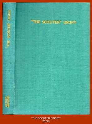 """""""THE SCOUTER DIGEST"""" - Scouting in the War Years (1940's Boy Scout Book)"""