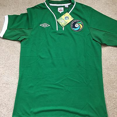 New York Cosmos Football Shirt Size 40 Large