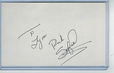 Rick Sofield Index Card Signed 1979-81 Minnesota Twins Psa/dna Certified