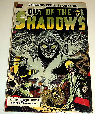 Out of the Shadows 5, Standard 1952, Toth Pre Code Horror.