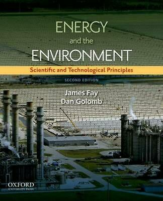Energy and The Environment by James A. Fay Hardcover Book (English)