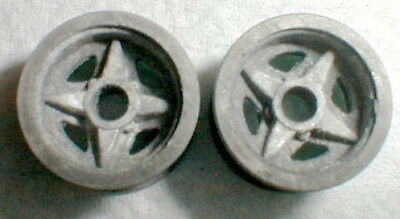 LOTUS Extra Narrow Front Wheels 1 Pair COX Originial #13033 Vintage 1960's  1/24