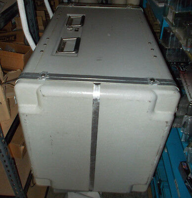 Racal-Dana 550 VXI Chassis Mainframe w/Power Supply Military Aircraft Grade Case