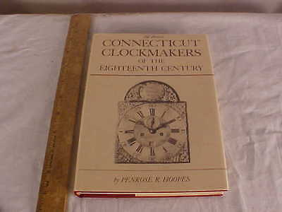 Book entitled Connecticut Clockmakers of the Eighteenth Century