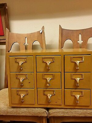 Gaylord Bros. Card Catalog File Cabinet