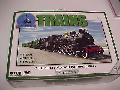 Railroad's of North America, 24 DVD's, Boxed, unopened, new.