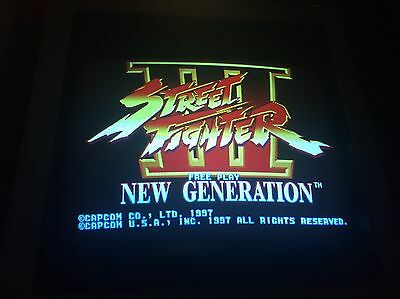 CAPCOM SYSTEM 3 CPS3 STREET FIGHTER 3  New Generation ARCADE GAME PCB JAMMA!!!!!