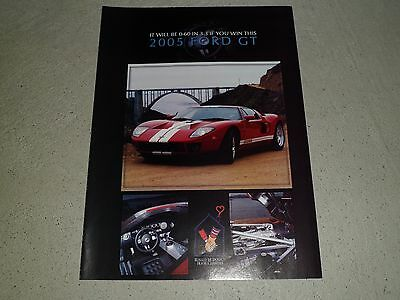 2005 FORD GT article / ad