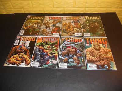 The Thing 1 2 3 4 5 6 7 8 Marvel 2006
