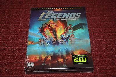 DCs Legends of Tomorrow: The Complete First Season (DVD, 2016) *Brand New*