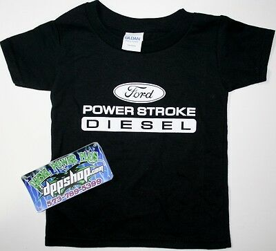 Ford powerstroke todler t kids shirt tee short sleeve diesel gear power stroke