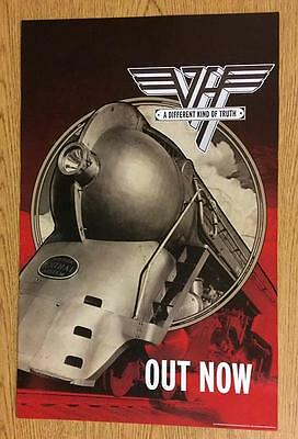Van Halen A Different Kind Of Truth 2012 Original Promo Poster