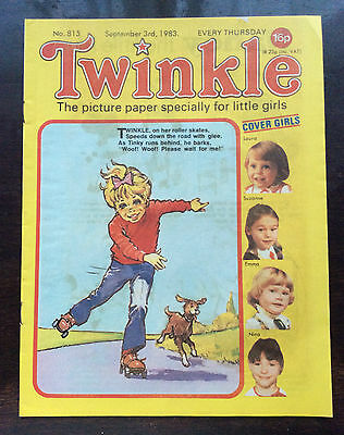 TWINKLE COMIC NO 815. 3rd SEPT 1983. VFN. WITH DRESS TWINKLE PAGE. UNREAD/UNSOLD