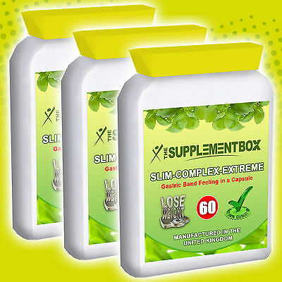 Poweful Diet Slimming Pills Gastric Band in a Pill Slim-Complex-Extreme